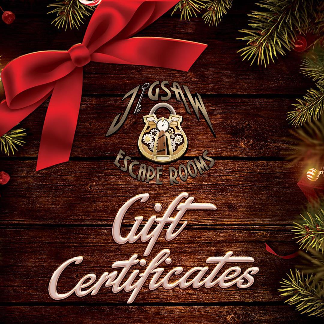 Gift Certificates at Jigsaw